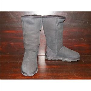 New Womens UGG Essential Tall Black Winter Boots